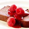 a Raspberry Cake