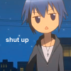 ♥ shut up ♥