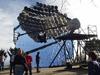 a giant telescope