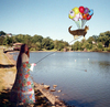 Hover Glide w/ Balloons