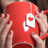 a cup filled with love ♥