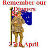 Remember our Diggers