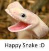 Happy Snake Loves You :D