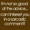 ah sarcasm..