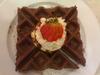 almond caramel waffle