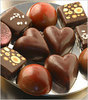 *Heart shape chocolates*