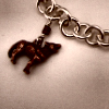Wolf Pendant + Chain