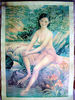 Antique Nude Girly Poster