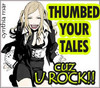 Thumbed your tales!!
